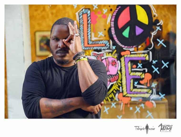 Le pop artiste Fred Ebami