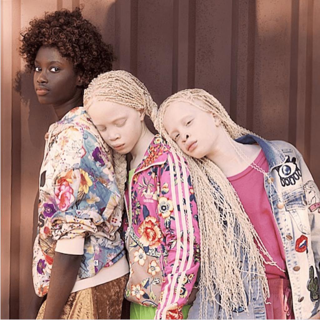 Trois soeurs brésiliennes d'origine Bissau-guinéene